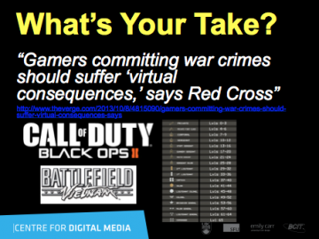 Red Cross & simulated war crime poll question