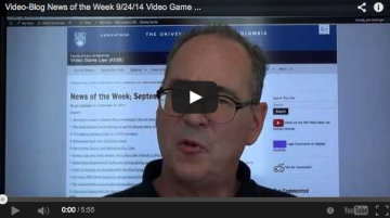 Video-Blog News of the Week; September 24, 2014