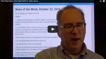 Video-Blog News of the Week; October 22, 2014