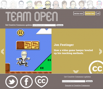 Creative Commons Team Open Profile