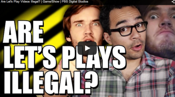 Are Let's Play Videos Illegal? | Game/Show | PBS Digital Studios – YouTube