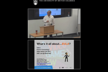 "Class 8 – 11/10/17; ""What's it all about…EULA?"" + ""What Can Video Games Teach Us About the Future"""
