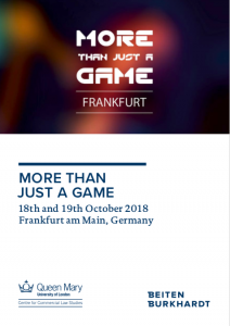 """Talk on """"Streaming Boxes"""" at More Than Just A Game 