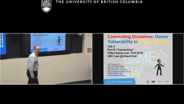 """Class 5 – 10/2/19; """"Connecting Ourselves: Gamer Vulnerability in Virtual Realities – Part 1″ + """"Loot Boxes"""" + """"Law & the Virtual World"""""""