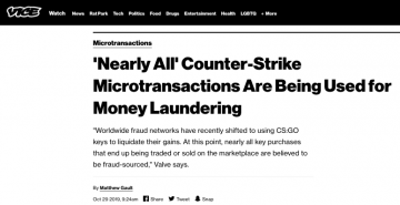 Money Laundering Using Video Game Loot Boxes