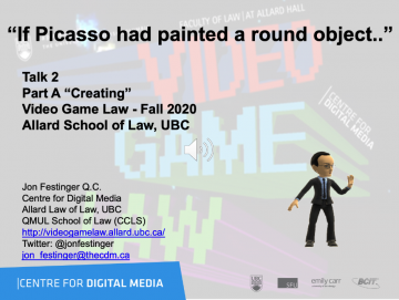 """Class 2 – Week of 9/14/20 Audio-Slides; """"If Picasso had painted a round object.."""""""