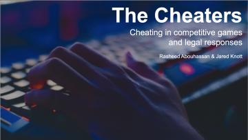 The Cheaters: November 18 Presentation
