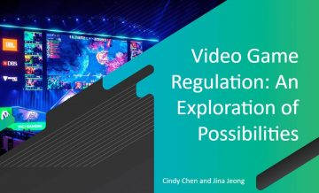 Video Game Regulation: An Exploration of Possibilities